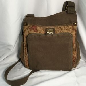 Fossil Crossbody Bag with Organizer Compartment